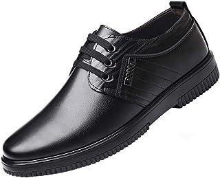 Webrosistol Chaussure de Cuisine Homme Cuir Baskets de Securite Antidérapantes Chaussures de Jardin Restaurant Travail Noires