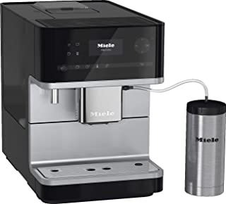 Miele Coffee Machine CM 6350: Fully Automated, 7 Coffee Drinks, Creamy Milk Froth, Coffee Pot Function, 4 User Profiles, 2...