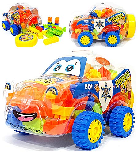 TopBargainsForYou - 100 Pcs Educational Building Blocks Game for Kids...