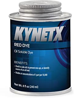 KYNETX Red Dye, Concentrated Oil Soluble, 8 oz Can