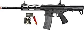G&G CM16 Raider L 2.0E 6mm Airsoft Rifle in Black w/MOSFET (Combo)
