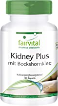 Kidney Plus with Fenugreek – Vegan – HIGH Dosage – 180 Capsules – Chromium and Green Coffee Estimated Price : £ 21,62