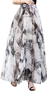 02ba42c02 Amazon.es: faldas largas - Gris
