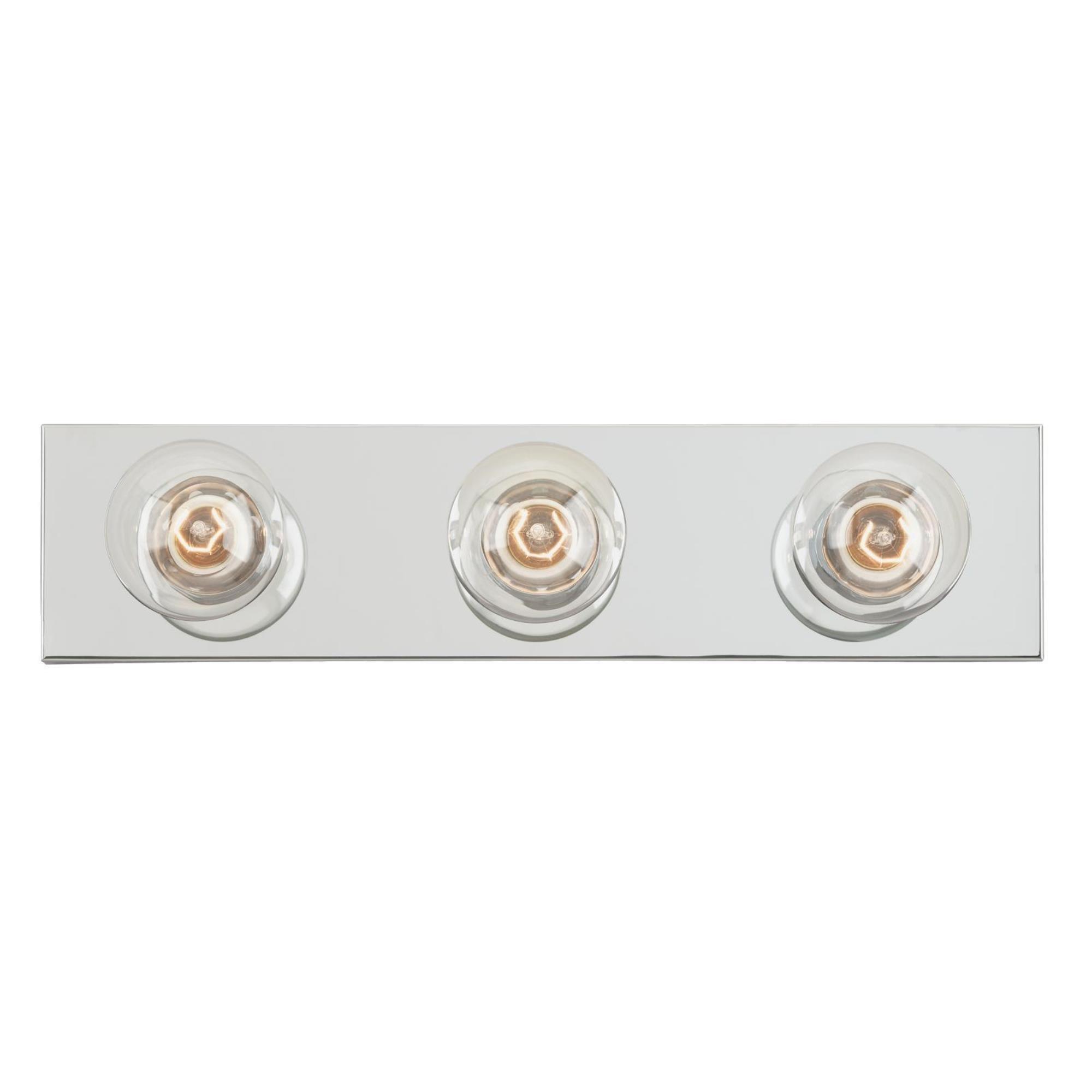 Westinghouse Lighting 6640600 Three Light Interior Bath Bar Chrome Finish Vanity Lighting Fixtures Amazon Com