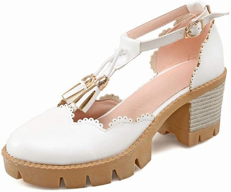 Women High Heels Sandals Summer shoes Women Buckle Lady Office Party Footwear