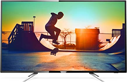 "Smart TV LED 50"" UHD 4K com Conversor Digital, Philips 50PUG6102/78, Preto"