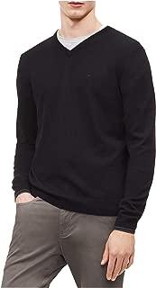 Calvin Klein Men's Solid V-Neck Sweater