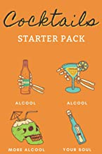 Cocktails Starter Pack Halloween My Recipe Book: Write, Fill In, Organize and Reference your own scary craft cocktails - M...