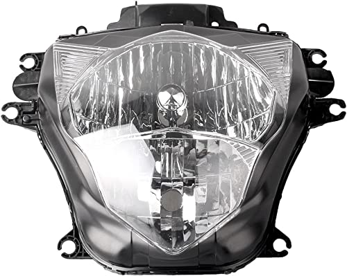 lowest Mallofusa outlet sale Motorcycle Front Headlight Headlamp Assembly Compatible for Suzuki GSXR600 GSXR750 2011 outlet sale 2012 2013 Clear Lens outlet online sale