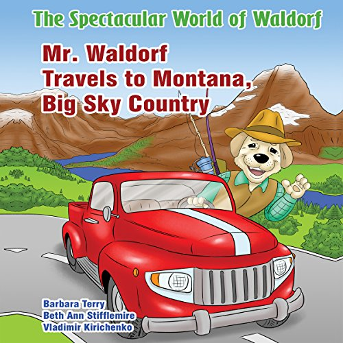 Mr. Waldorf Travels to Montana, Big Sky Country audiobook cover art