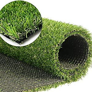 GL Artificial Grass Turf Customized Sizes, Artificial Lawn for Dogs, 20MM Thick Faux Grass, Synthetic Outdoor Indoor Rug Area 6FTX27FT(162 Square FT)