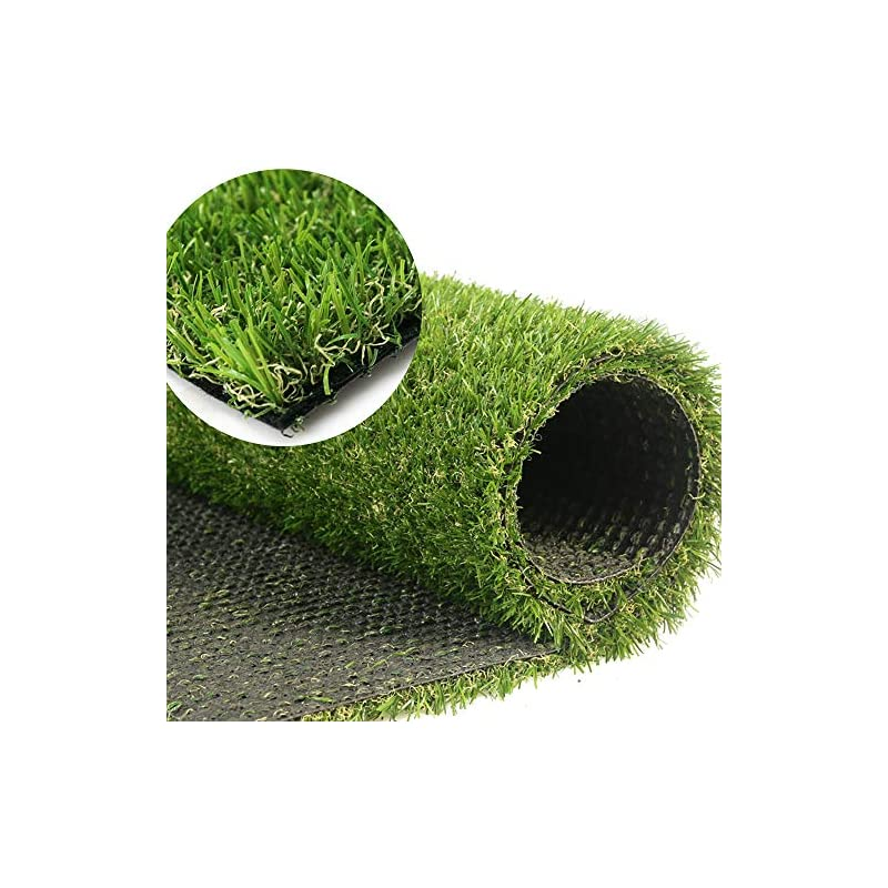 silk flower arrangements gl artificial grass turf customized sizes, artificial lawn for dogs, 20mm thick faux grass, synthetic outdoor indoor rug area 6ftx27ft(162 square ft)
