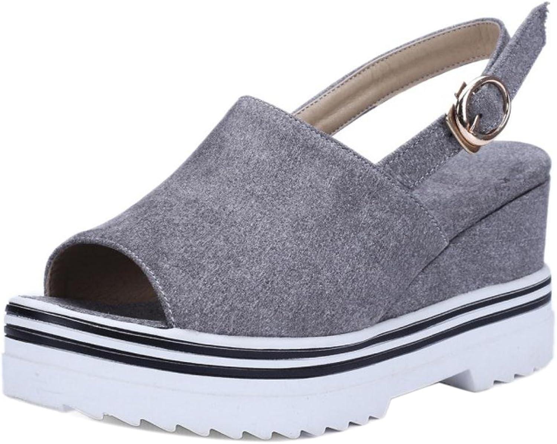 AicciAizzi Women Platform Wedge Heel Sandals
