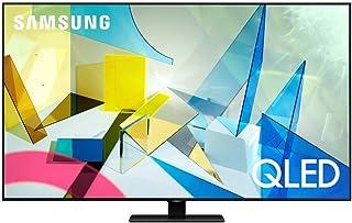 SAMSUNG 75-inch Class QLED Q80T Series - 4K UHD Direct Full Array 12X Quantum HDR 12X Smart TV with Alexa Built-in (QN75Q8...