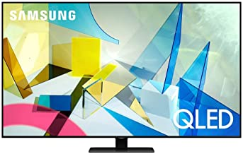 SAMSUNG 75-inch Class QLED Q80T Series - 4K UHD Direct Full Array 12X Quantum HDR 12X Smart TV with Alexa Built-in (QN75Q8...