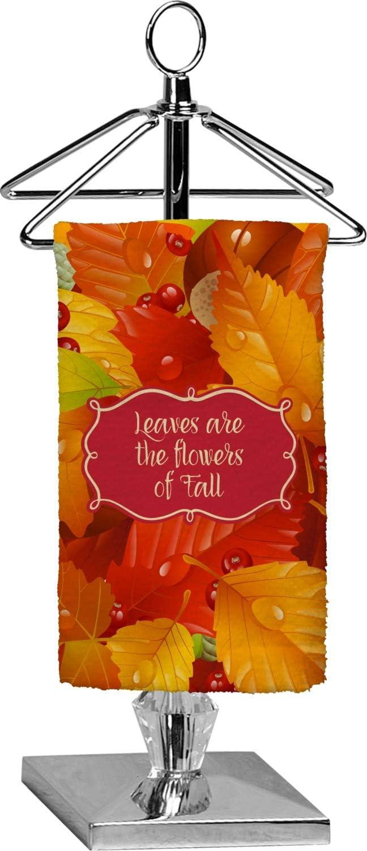 RNK Shops 5 ☆ very popular Fall Leaves Finger Full Towel Print Tip - Max 50% OFF