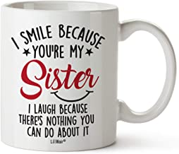 Mothers Day Gifts For Sister. Sister Gifts From Sister. Big Sisters Gift From Brother. Little Sister Birthday Gift. Funny ...