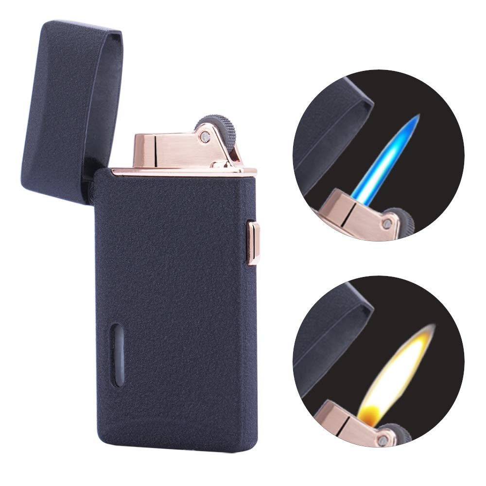 Lighter Switchable Cigarette Adjustable Refillable