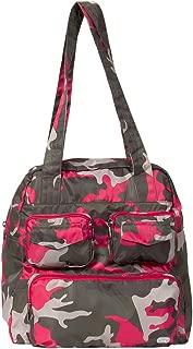 Lug Puddle Jumper Packable Bag, Water Color Purple Shoulder Bag