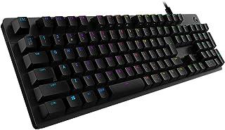 Logicool G ゲーミングキーボード G512-LN ブラック メカニカルキーボード リニア 日本語配列 LIGHTSYNC RGB G512 Carbon 国内正規品 2年間メーカー保証