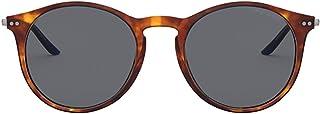 Luxury Fashion | Giorgio Armani Mens AR812157602 Brown Sunglasses | Fall Winter 19