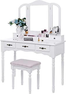 Best white retro dressing table Reviews