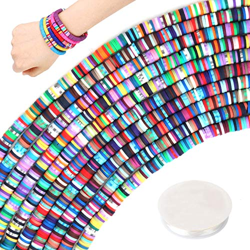 Heishi Beads for Jewelry Making Color Assortment