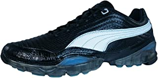 PUMA Cell Meio L Womens Leather Running Trainers/Shoes - Black