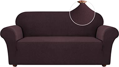 H.VERSAILTEX Stretch Sofa Covers Couch Covers for 3 Cushion Couch Sofa Slipcovers for Living Room Furniture Covers for Sof...