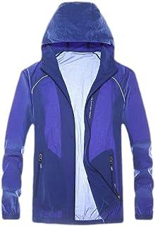 Men's Lightweight Jacket UV Protection Quick Drying Windproof Skin Coat