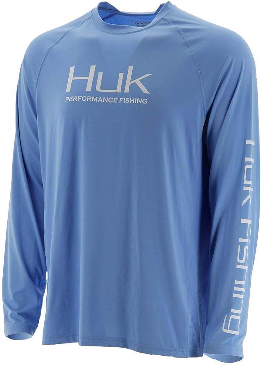 Huk Max 49% OFF Men's Pursuit Vented Long Sleeve Shirt Fishing Carol Max 90% OFF 30 UPF