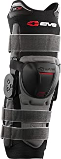 EVS Sports Mens Knee Brace Black Large SX02-L SX02