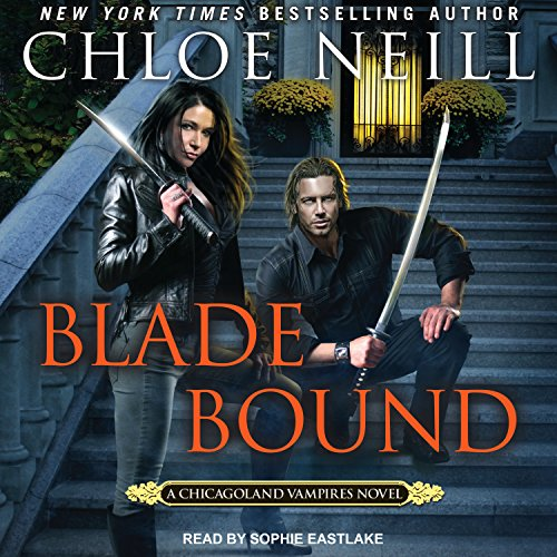 Blade Bound audiobook cover art