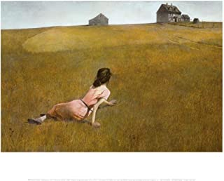Christina's World, 1948 Art Print by Andrew Wyeth 14 x 11in