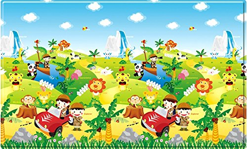 Dwinguler Eco-friendly Kids Play Mat - Dino Land (Large)