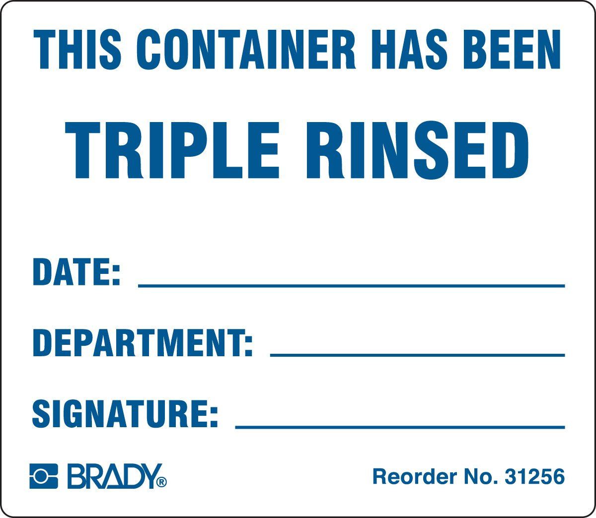 Brady Award 31256LS Material Handling Shipping and Receiving Labels Tampa Mall