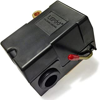 lefoo Quality Air Compressor Pressure Switch Control 95-125 PSI 1 Port w/Unloader