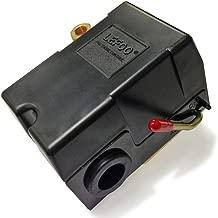 lefoo Quality Air Compressor Pressure Switch Control 95-125 PSI 1 Port w/Unloader