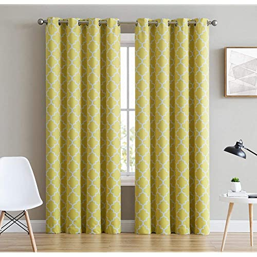 Yellow Living Room Curtains: Amazon.com