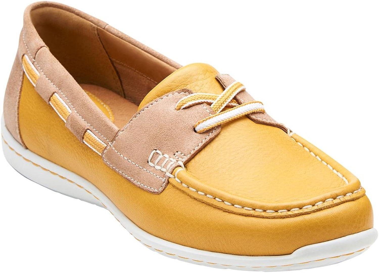 Clarks Women's Cliffpink Sail Boat shoes