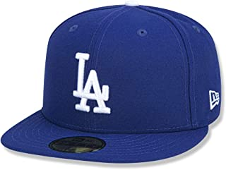 New Era 59FIFTY Los Angeles Dodgers MLB 2017 Authentic Collection on Field Game Cap Fitted Cap