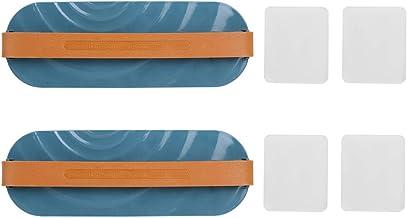 Emoshayoga Zapatilla de fácil instalación a estrenar para baño(Blue)