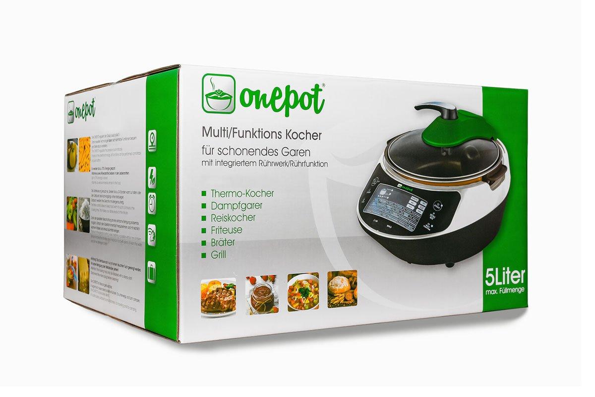 ONEPOT - la olla multifuncional, robot de cocina y cacerola ...