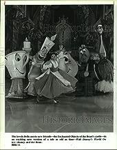 Vintage Photos 1994 Press Photo Scene from Walt Disney's World on Ice - Beauty and The Beast
