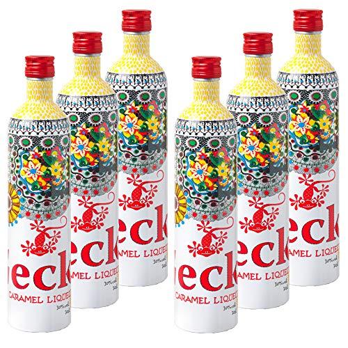 6 Stück 0,7 Liter Gecko Caramel Liqueur