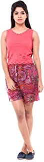 EASY 2 WEAR ® Womens Printed Long Shorts Plus Sizes Avai (Size S to 4XL)