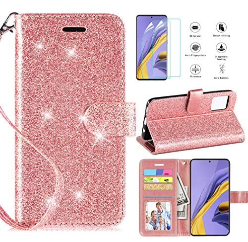 Best a51 case with screen protector bling for 2020