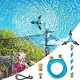 Funyole Trampoline Sprinkler, 360 Degrees Rotation Waterwhirl Sprinkler for Kids and...