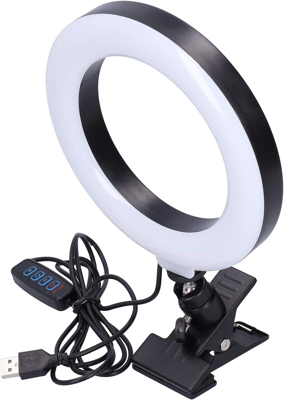New York Mall Dimmable LED Ring Light 16cm for Selfie Adjustable Fill Vi Nashville-Davidson Mall