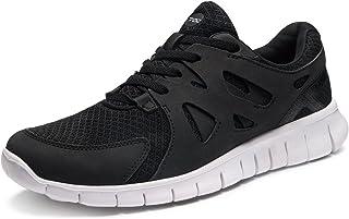 TSLA Men's Lightweight Sports Running Shoe